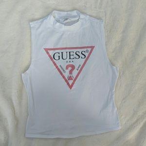 Guess sleeveless shirt